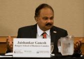 Dean Jaishankar Ganesh, Rutgers School of Business-Camden