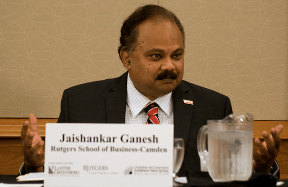 Dean Jaishankar Ganesh, Rutgers School of Business-Camden