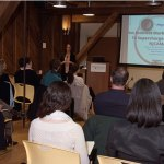 D&R Greenway in Princeton is a comfortable, intimate venue for NJCAMA events. Earlier this year Sarah Cirelli of Withum, Smith+Brown discussed social media. (Frank Peluso Photo)