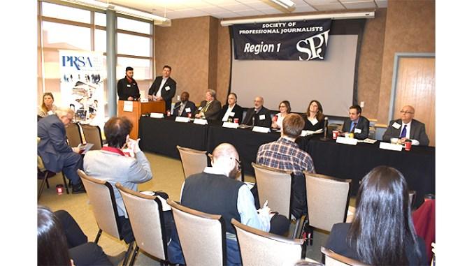 PRSA-NJ Meet the Media Panel at Rutgers University, Piscataway, NJ, April 5, 2018. (Photo by Robert Bugai)