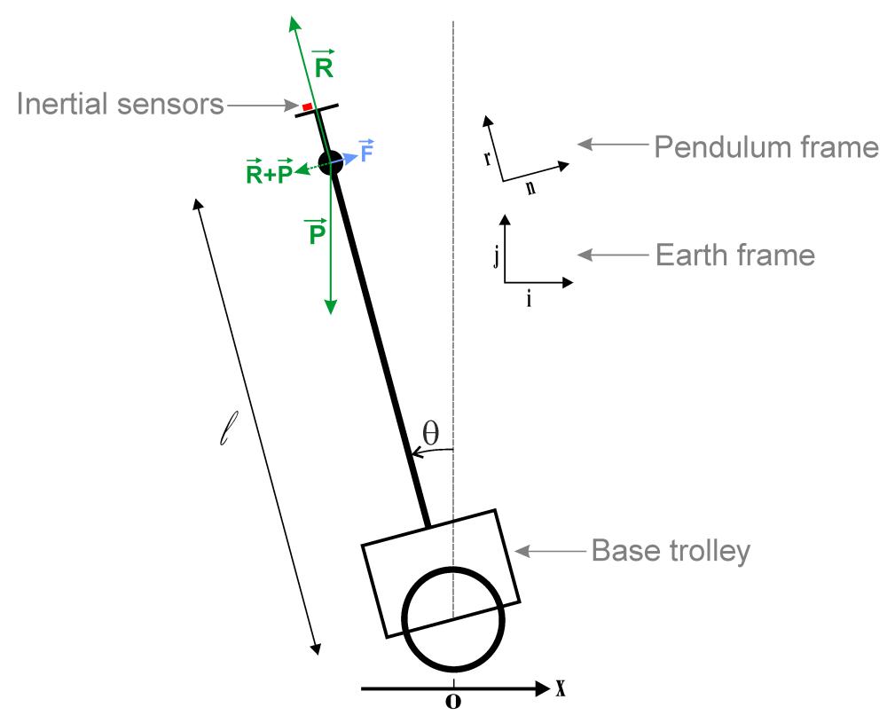 medium resolution of pendulum free body diagram