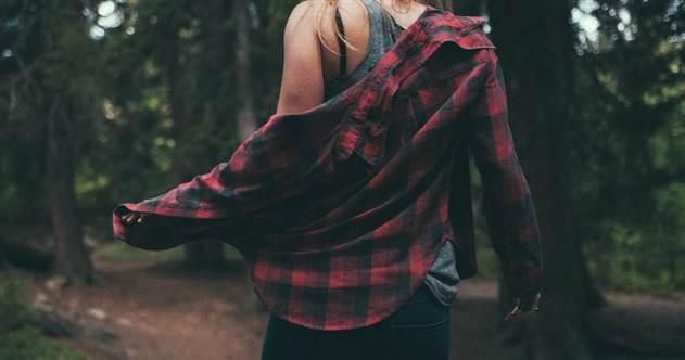 Моё первое свидание в лесу