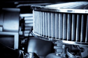 performance engine air intake filter and carburetor