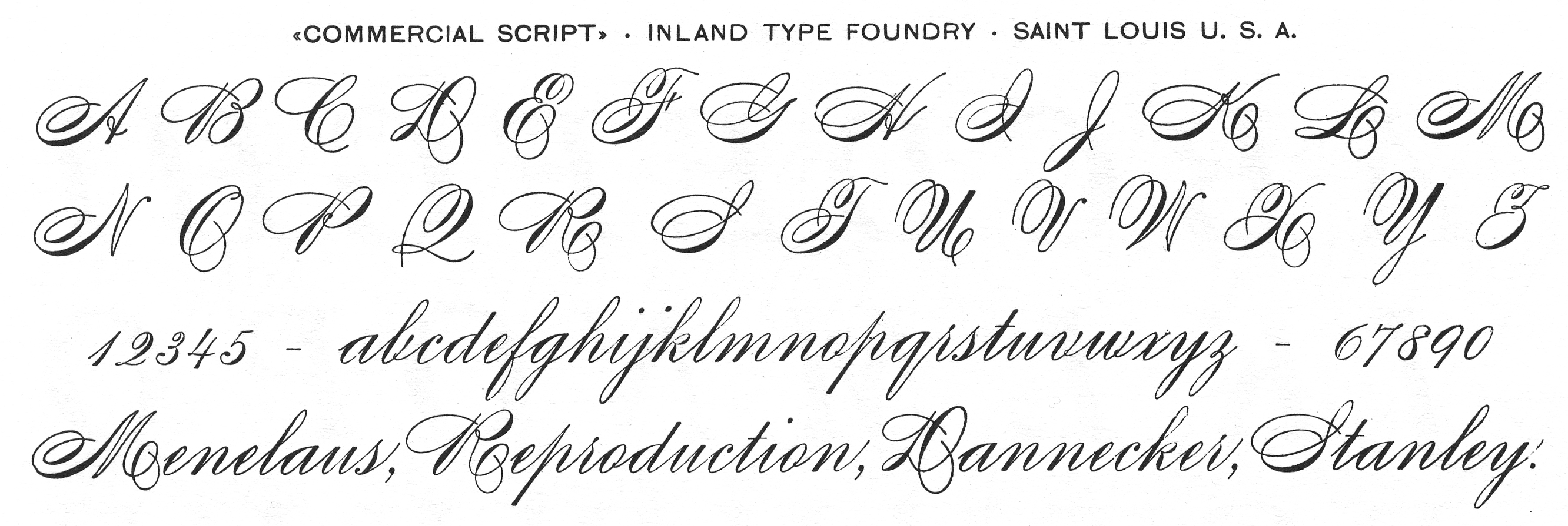 Earliest Examples Of Scripts Reproduced In Type