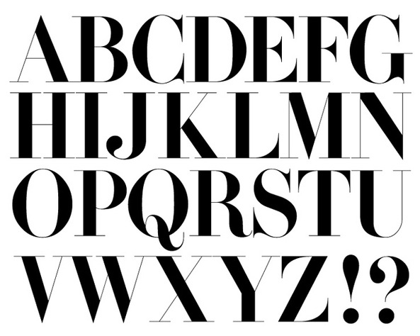 Fashion magazine fonts free download