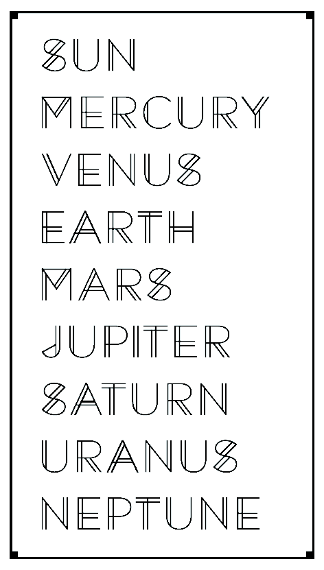 diagram of the planets in order cbr 600 f4i wiring solar system font - pics about space