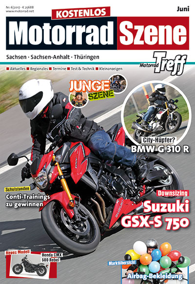 MotorradSzene Titel Juni 2017