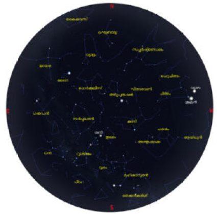 sky map 2015 july