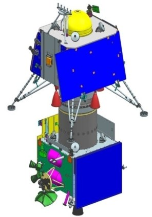 chandrayan 2 - design