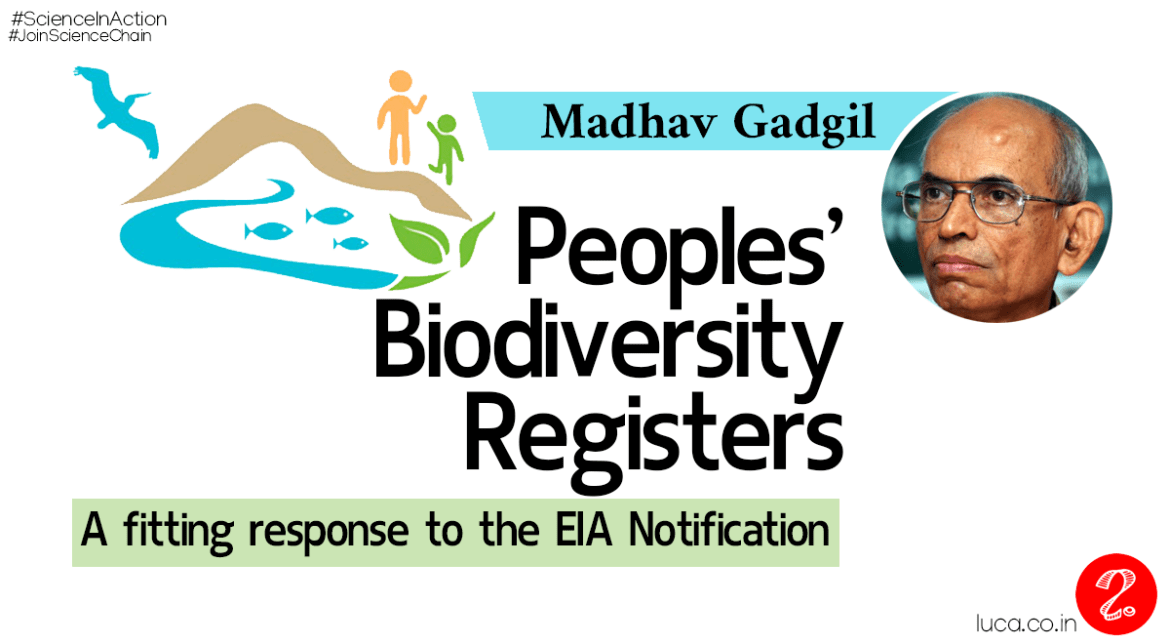 Peoples' Biodiversity Registers : A fitting response to the EIA notification
