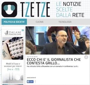 (ANSA - SCHIENA DRITTA) La foto segnaletica di Lorenzo Consoli su TzeTze