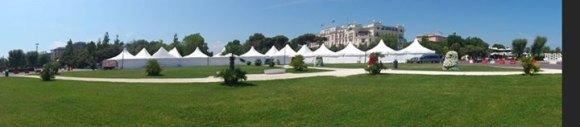 Panoramica mostra mercato Rimini Comix 2013