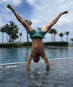 Handstand-Training