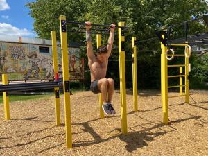 Rücken Workout Explosiv