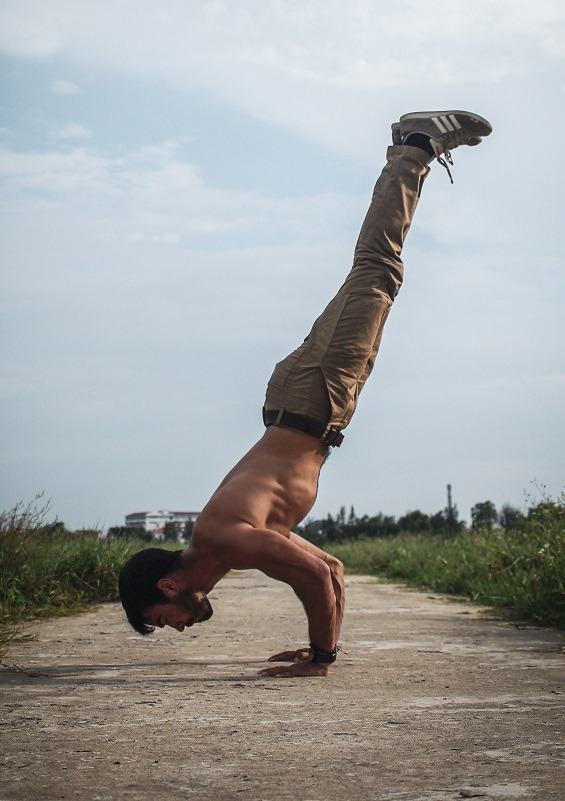 Handstand Push-Up Boost