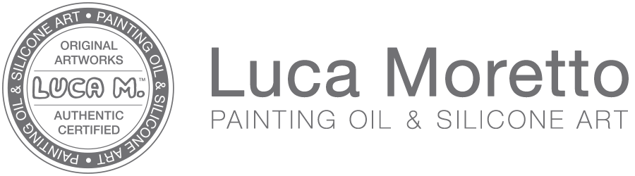 Luca Moretto Painting Oil & Silicone Art