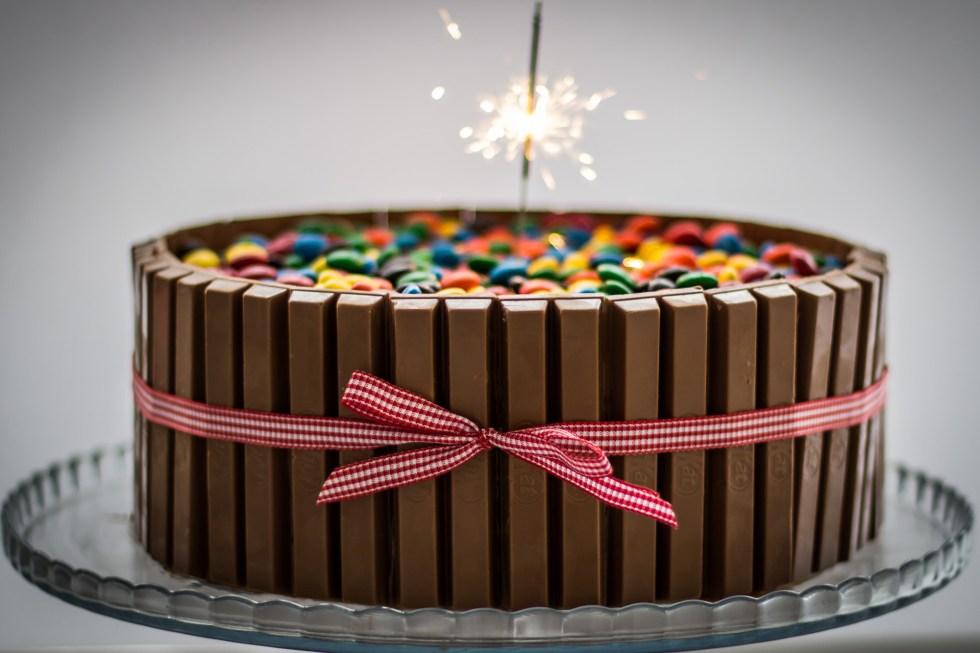 bolo de chocolate da família