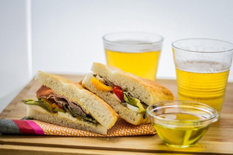 sanduíche de rosbife legumes assados2