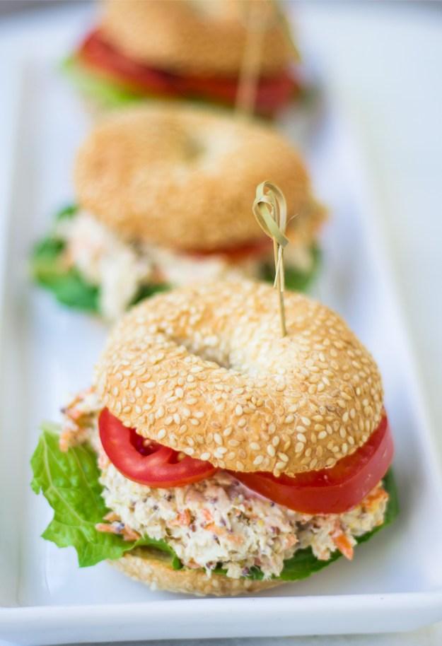 sanduiche de salada de frango
