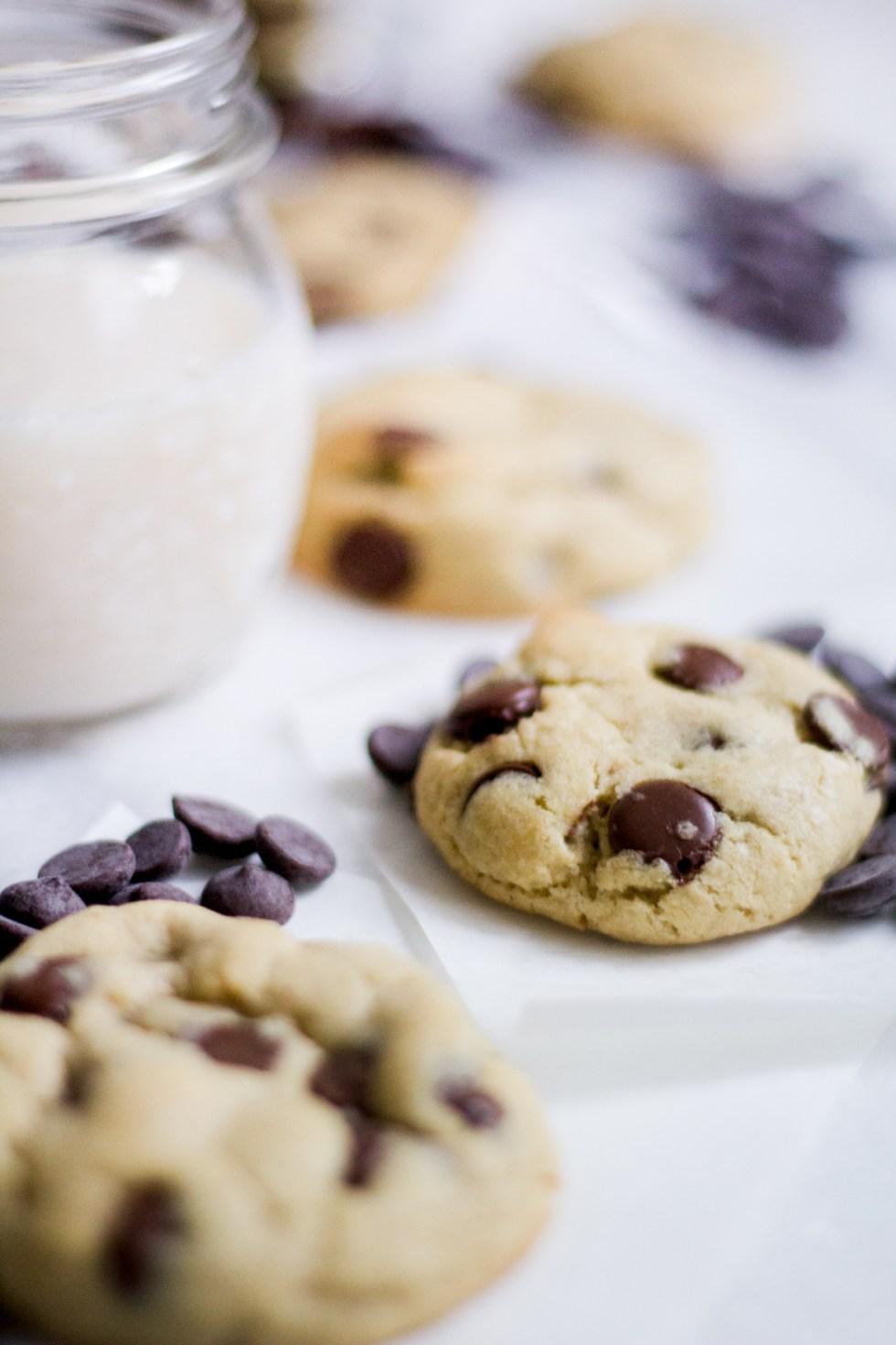 Cookie com gotas de chocolate 4