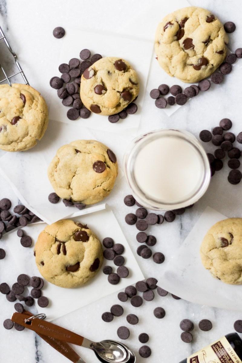 O melhor Cookie com gotas de chocolate que você respeita!!!