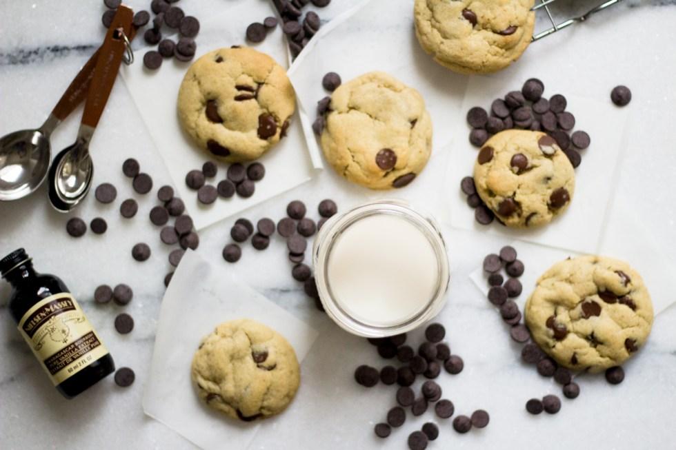 Cookie com gotas de chocolate 3