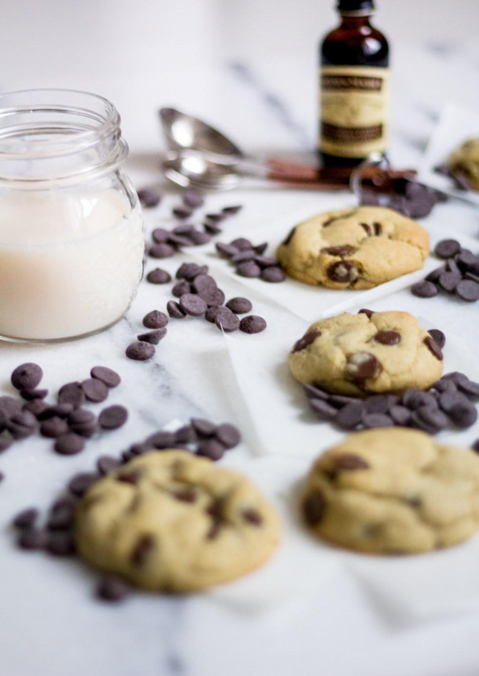 Cooke com gotas de chocolate 3