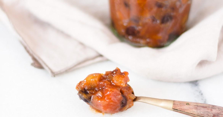 Chutney de mamão papaia
