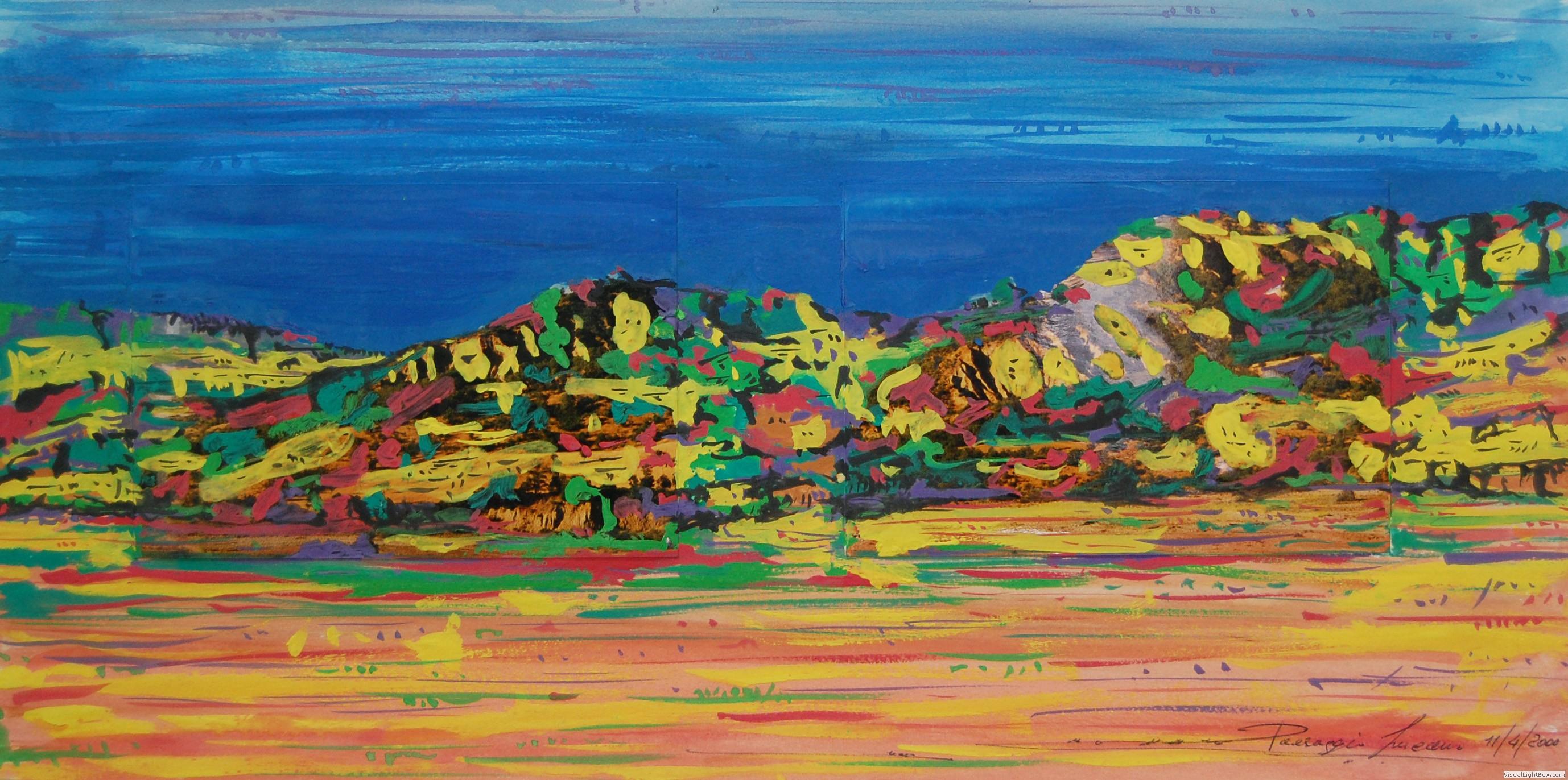 Paesaggi lucani nella pittura di Lucio Vitarelli  LucaniArt Magazine