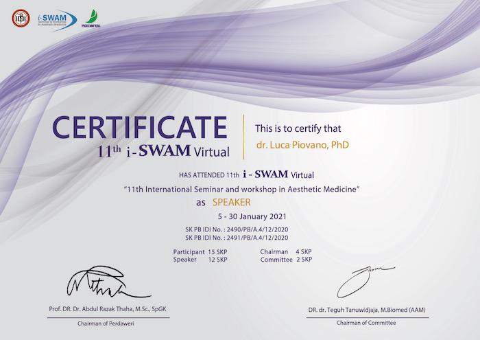 iswam 11th speaker