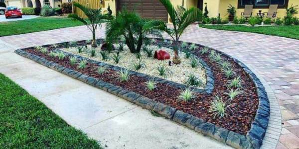 landscape curbing lucas design