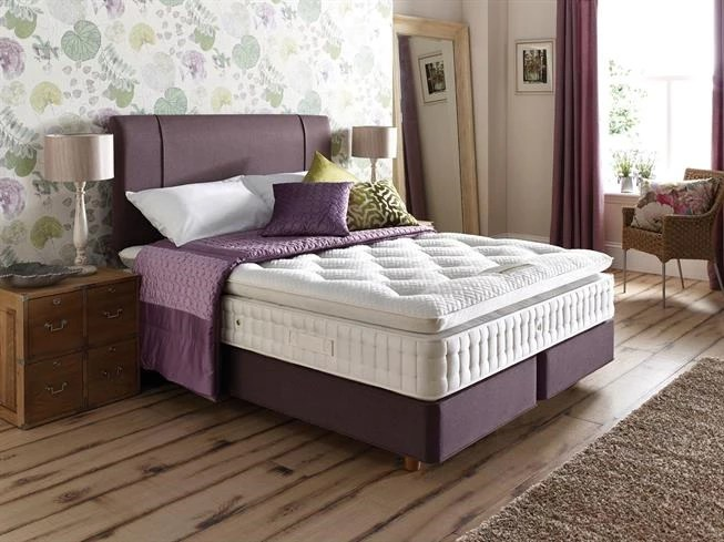 Buy Double Deluxe 4200 Shallow Platform Divan Set On Legs