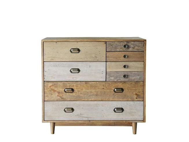 Loft Relaimed 6 Drawer Chest Buy At Lucas Furniture Alyesbury