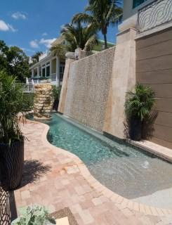 Bradenton custom pool builder insane pools custom water feature