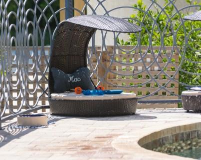 Bradenton custom pool builder insane pools dog beds