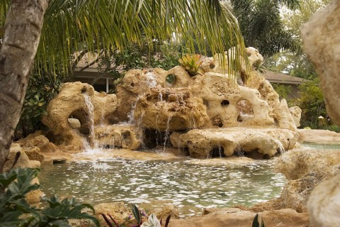 Large natural water feature