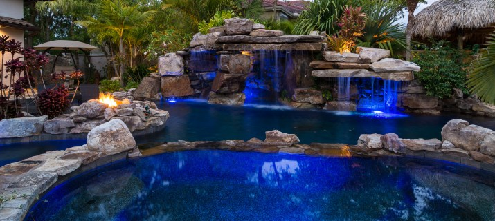natural-rock-waterfall-pool-siesta-key-spa-fire-pit
