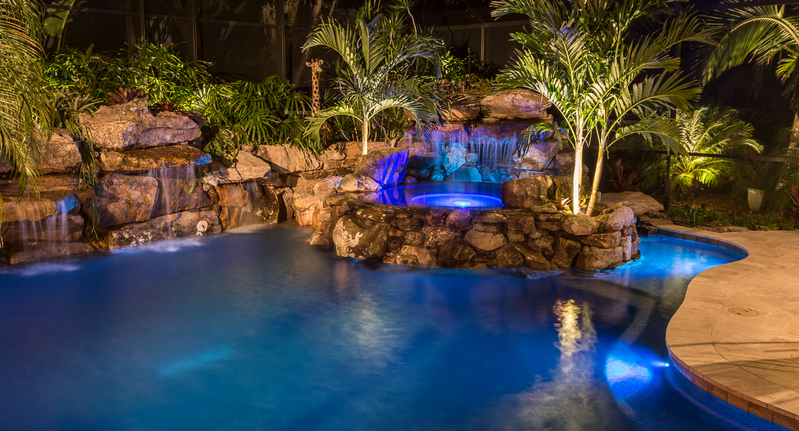 Zen the art of pools custom pool build for Custom pools