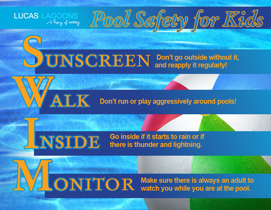 Pool Safety Lucas Lagoons