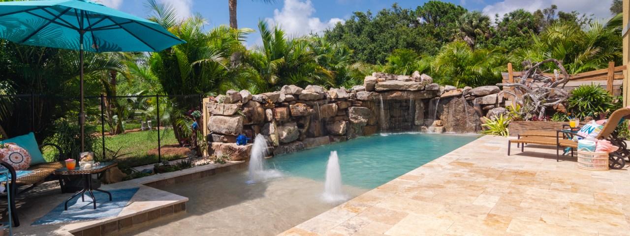 Sarasota Pool Builder Custom Designer Swimming Pool Nokomis