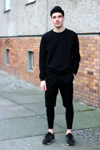 looks masculinos minimalista monocromatico - moda masculina - lucas maronesi 17