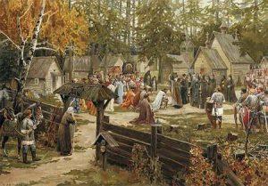 Občina - zlatý vek Slovanov