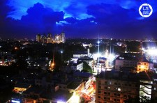 Bangalore's sky