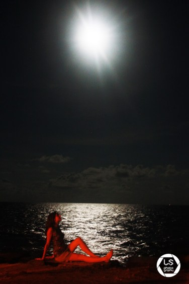 Pondicherry red night