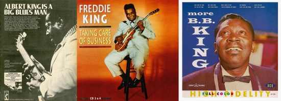 Albert King, Freddie King and BB KIng