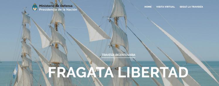 Fragata Libertad. seguimiento