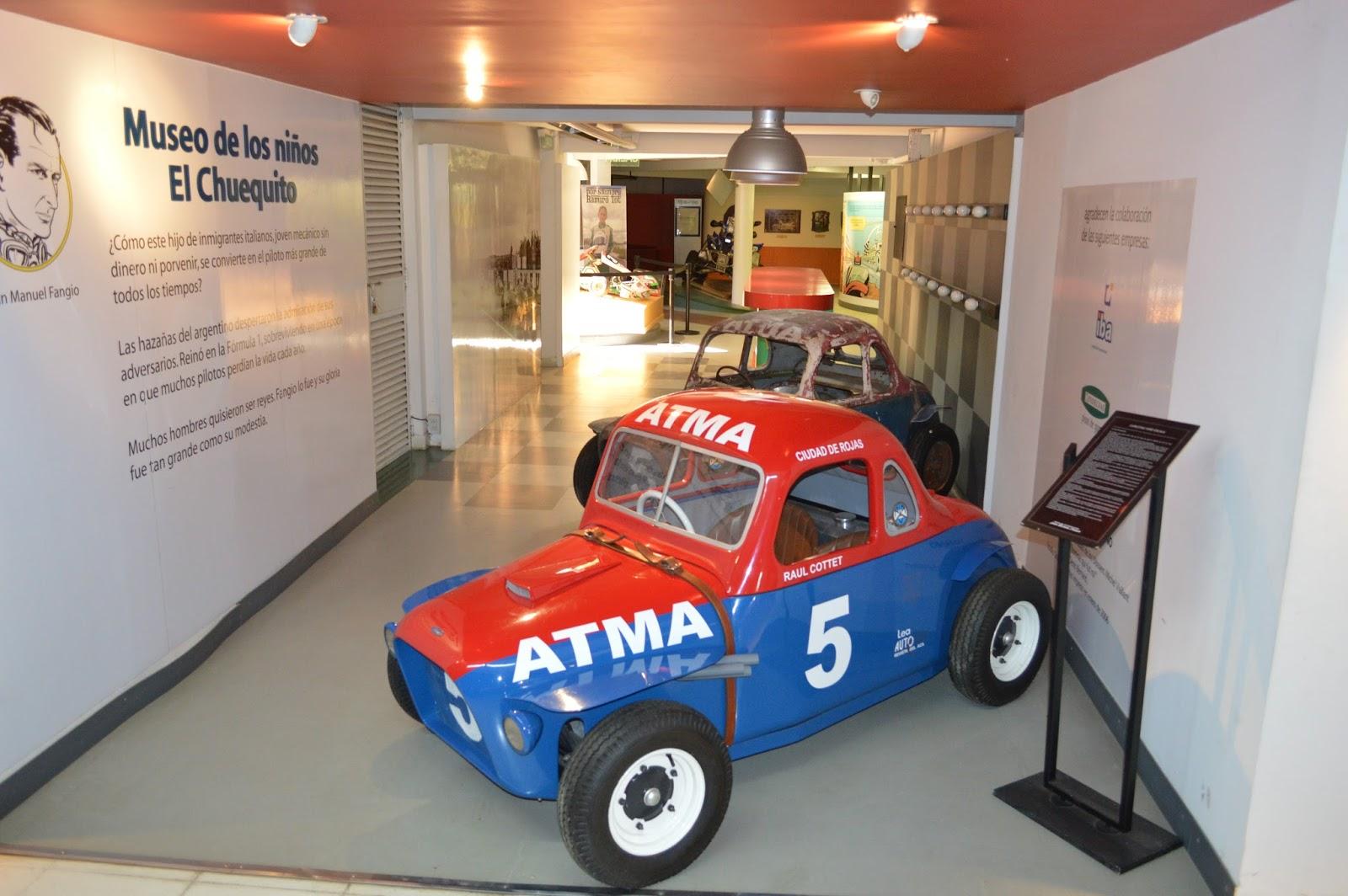 Recorrido Por El Museo J M Fangio En Balcarce Lucatdis