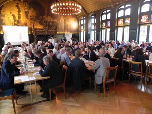 Die Generalversammlung der Basler FDP wird am 9. April eine neue Geschäftsleitung wählen. Im Bild: Nominationsparteitag zu den Regierungsratswahlen 2012.
