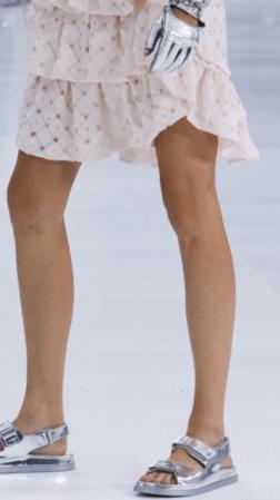 Chanel sandalias