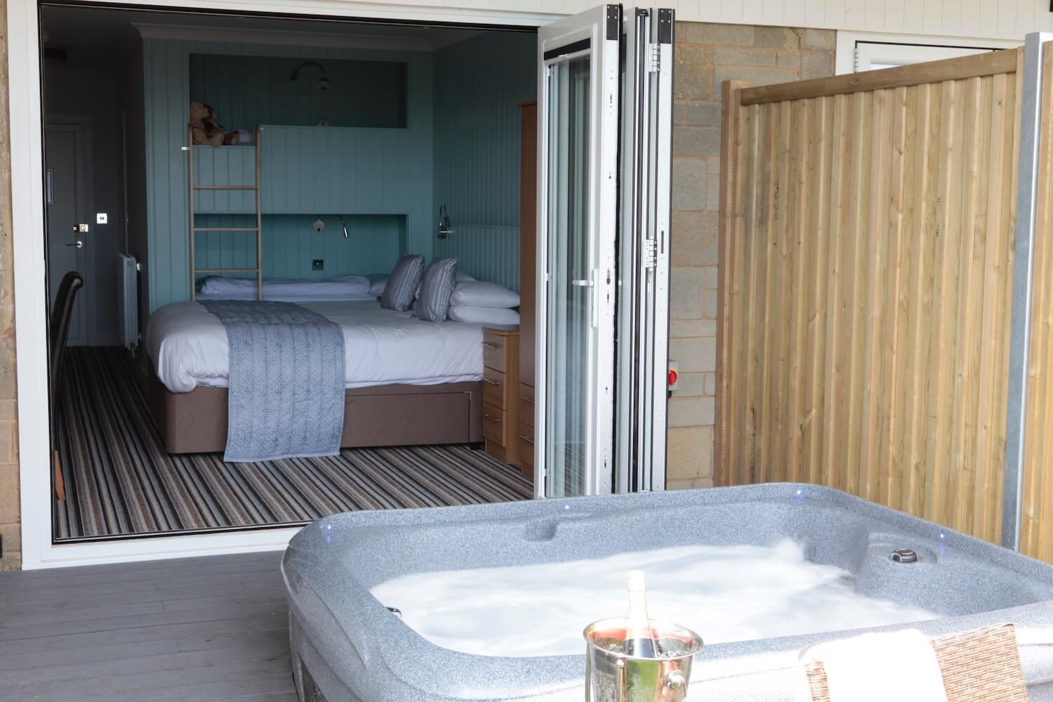 Superior Garden Room With Private Patio Hot Tub Luccombe